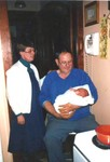 Mary and Gene Hundeby with their grandson Michael on November 4, 1990 (original Manda Baldwin)