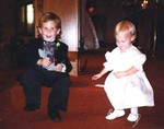 Michael and Carleen July 9th, 1994 at John and Lori's wedding. (original Manda Baldwin)