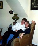 Manda and Katherine, Red Wing in October 1991. (original Manda Baldwin)