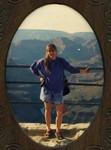 Manda at the Grand Canyon in Arizona 1993. (original Manda Baldwin)