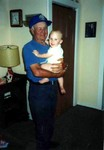 Grandpa John and Michael in July, 1991. (original Manda Baldwin)
