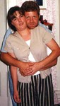 Russ and Manda in August 1998.