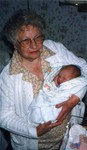 Great Grandma Audilee Steffens and Mary Emeline.