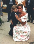 Michael and Manda July 9, 1994 at John and Lori's wedding. (original Manda Baldwin)