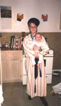 Katherine holding Michael March 1991 Red Wing. (original Manda Baldwin)