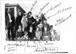Bundy family picture about 1925. Identifications by Beulah (Bundy) Coombs. (Original: Janet Lucius)