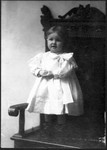 June Bundy, around 3 years old.  Around 1909. (Original: Mary Hundeby)