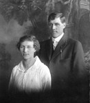 Lindsay Bundy and his wife, Myrtle (Horning) Bundy. (Original: Mary Hundeby)