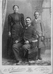 Boney Jerry, his wife Josie, and their only child Will, around 1894.  Will and his wife, Grace, were killed in a car accident in 1939, and left no descendants.  (Downloaded from Wabasha County Historical Society website)