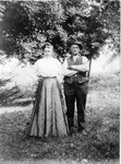 Boney Jerry and Josie, around 1912.  (Original: Mary Hundeby)