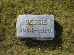 Bessie Russell, Lakewood Cemetery, Lake City, MN, 44.43445,-92.27245 (Photographed by Bob Hart, Nov 2004)