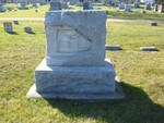 Russell family plot, Lakewood Cemetery, Lake City, MN, 44.43445,-92.27245 (Photographed by Bob Hart, Nov 2004)