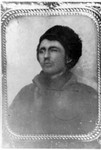 Cyrenus Holmes Whaley. The Wabasha County Rootsweb site has a copy of this photograph posted dated at 1875. (Original: Janet Lucius)