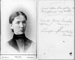 "The information written on the back is confusing; ""Junie"" refers to June (Bundy) Winberg; many of the pictures are labeled ""Junie,"" which seems to be indication of ownership. Seems like it is probably Ada (Segar) Boughton, Lucy's step-sister."