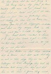 Letter from Bob to his sister, Esther, 14 Dec 1935, page 2.  (Original: Bob Hart)