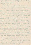 Letter from Bob to his sister, Esther, 14 Dec 1935, page 3. (Original: Bob Hart)