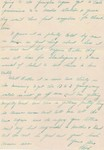 Letter from Bob to his sister, Esther, 14 Dec 1935, page 5. (Original: Bob Hart)