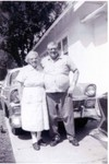 Clara and son Bob Winberg. (Original: Mary Hundeby)