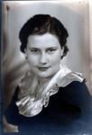 Esther Winberg's high school graduation picture. Park High School, St. Paul Park, MN, 1935. (Original: Alice Robinson)