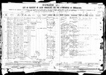 The ship's manifest for S.S. Lucania from Liverpool, showing a departure on  March 23, 1901, and an arrival in New York harbor of March 30, 1901,  showing the arrival of Karl Fritzhof Winberg in America.  Two lines above is Lutheru Andre, who accompanied Karl to America and paid his passage (this is the same person as J.A. Andri, who accompanied Marie).  Shows the relative he was to meet was his sister Marie LaBathe, of St. Paul, MN.  (From www.ellisisland.org, search for Carl Winberg; ID of Lutherias Andren from Alice Robinson)