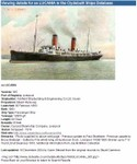 SS Lucania, the ship that carried Charles Winberg to America.  Copyright http://www.clydebuiltships.co.uk and http://www.clydesite.co.uk.