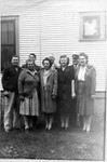 The Winberg family, around 1950. Standing in back, l to r: Claus, Ray, Charles, and Bob. Front, l to r: Clara, Annie, Edith, and Esther.